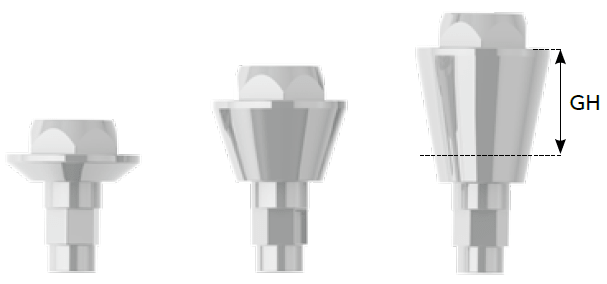 SLV Implants Systems - Ultra Mini Threaded Abutment